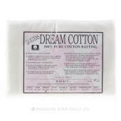 Quilter's Dream Select White Cotton Throw Batting
