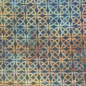 Stonehenge - Solstice Celtic Knot Circles Teal Yardage