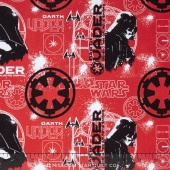 Star Wars: Rogue One - Darth Vader Ruby Yardage