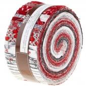 Holiday Flourish 10 Scarlet Roll Up