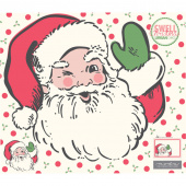 Swell Christmas - Santa Appliqué Digitally Printed Panel