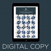 Digital Download - Tilted Nine-Patch Quilt Pattern by Missouri Star