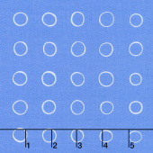 Cottage Joy - Ring Dot Blue Yardage