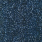 "Tonga Batiks Wide - Circles Cosmos 106"" Backing"
