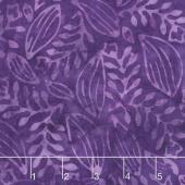 Tonga Batiks - Vivid Herb Purple Yardage