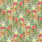 Bloomsbury - Writer's Garden Petal Green Yardage