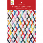 Rhombus Gemstones Quilt Pattern by Missouri Star