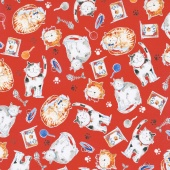 Take Me Home - Cats Red Yardage