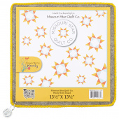 "Missouri Star Wooly Betty Board - 13.5"" x 13.5"" Gold Border"