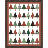 Missouri Star Christmas Traditions Winter Pines Throw Kit