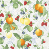Ambrosia Farm - Orchard Natural Fabric Yardage