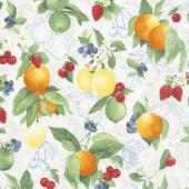 Ambrosia Farm - Orchard Natural Fabric Yardage