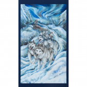 Northern Heritage - Dog Sled Ice Digitally Printed Panel