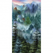 Novelty - Effervescent Forest Multi Panel