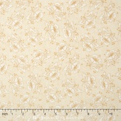 Butter Churn Basics - Floral Cream Yardage