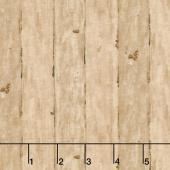 Chicken Scratch - Wood Panel Tan Yardage