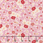 Amorette - Posies Pink Yardage