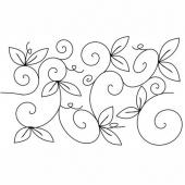 Full Line Stencil - Whimsical Garden