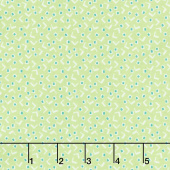 Vintage Happy 2 - Tiny Squares Spring Green Yardage
