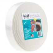 "Bosal Katahdin 100% Organic Cotton Precut 2 1/2"" x 50 Yard Batting"