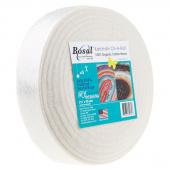"""Bosal Katahdin 100% Organic Cotton Precut 2 1/2"""" x 50 Yard Batting"""