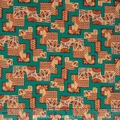 Downton Abbey - The Egyptian Collection Egyptian Maze Jade Yardage