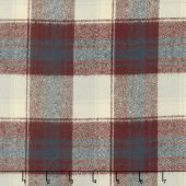 Mammoth Flannel - Plaid Burgundy Yardage