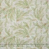 Songbird Christmas - Wispy Branches Yardage