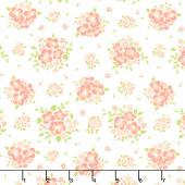 Apricot & Ash - Spring Blooms Cloud Yardage