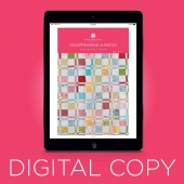 Digital Download - Disappearing 4-Patch Quilt Pattern by Missouri Star