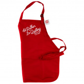 I'd Rather Be Quilting Apron - Red