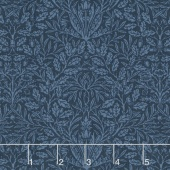 William Morris - Acorn 1882 Indigo Yardage