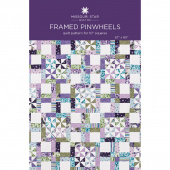 Framed Pinwheels Quilt Pattern by Missouri Star
