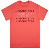 Missouri Star Coral T-Shirt - 4XL