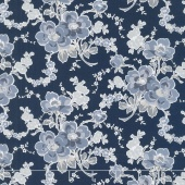 Charming - Charming Main Navy Yardage