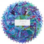 Kaffe Fassett Collective Stash Blue Florals Charm Pack
