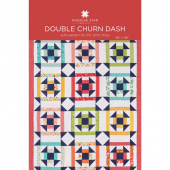 Double Churn Dash Quilt Pattern by Missouri Star