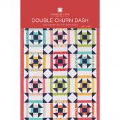 Double Churn Dash Quilt Pattern by Missouri Star