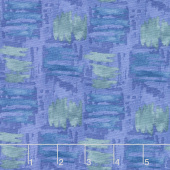 Tessellations - Abstract Squares Medium Purple Yardage