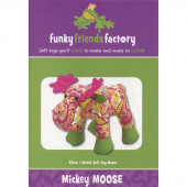 Mickey Moose Funky Friends Factory Pattern