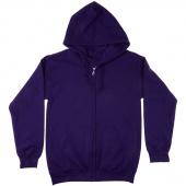 Missouri Star Purple Bling Full Zip Hoodie - Small