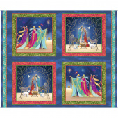 Christ is Born - Nativity Block Multi Digitally Printed Panel