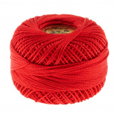 Perle Cotton Thread Size 8 Red
