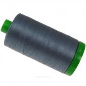 Aurifil 40 WT 100% Cotton Mako Large Spool Thread - Dark Grey