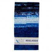 Indigo Morris Batiks Strips