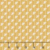 Sorbet - Tee Stripes Yellow Yardage