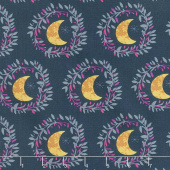 Mystical Land - Lunar Illusion Flame Blue Yardage