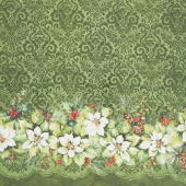 Deck the Halls - Double Border Green Yardage