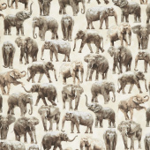 Animals - Elephant Yardage