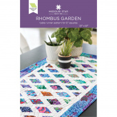 Rhombus Garden Table Runner Pattern by Missouri Star